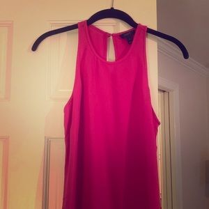 JCrew hot pink blouse